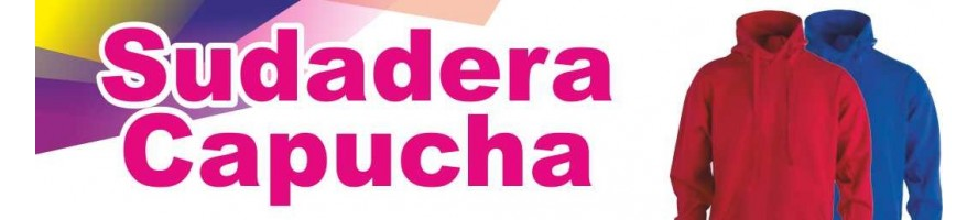 SUDADERA CAPUCHA